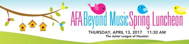 AFA Beyond Music Spring Luncheon